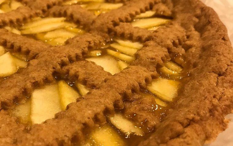 Crostata Di Farro ripiena di Mele