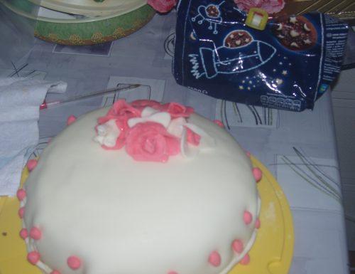 La mia prima torta di pasta di zucchero