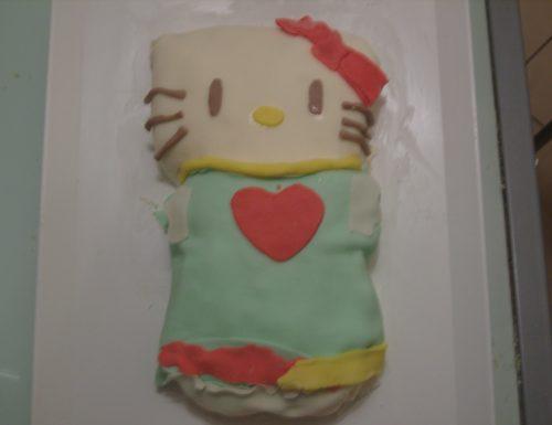 3° torta in pasta di zucchero