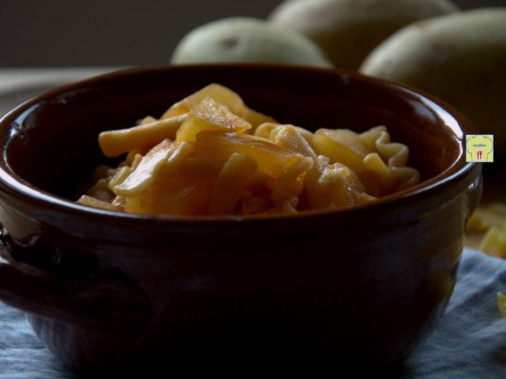 pasta e patate 1