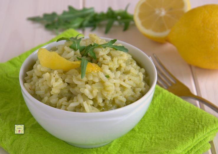 Risotto Limone E Rucola Ricetta Facile E Sfiziosa