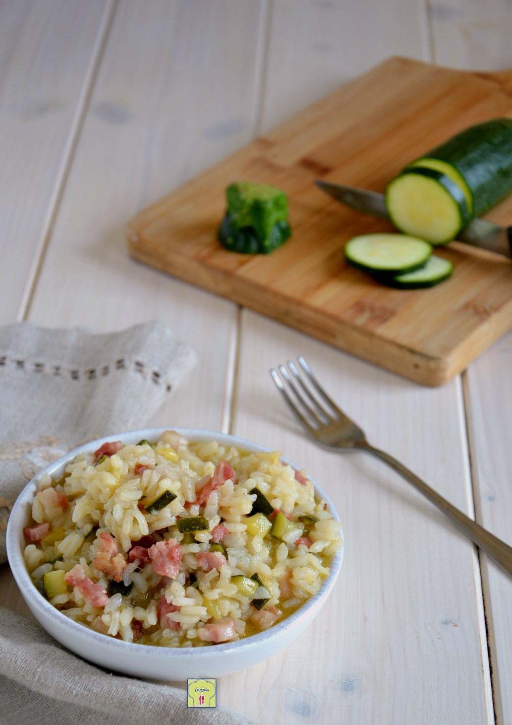 risotto zucchina e pancetta gp
