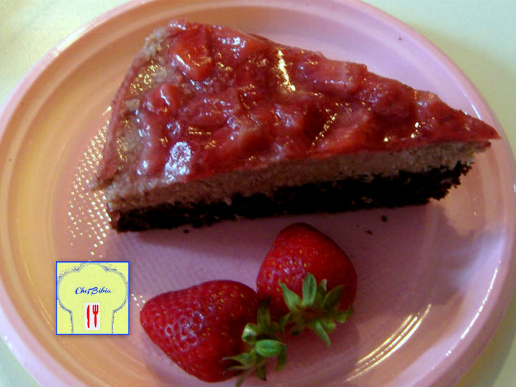 torta golosa fragole cocco macarpone e nutella