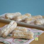 biscotti tipo pavesini cocco e mascarpone