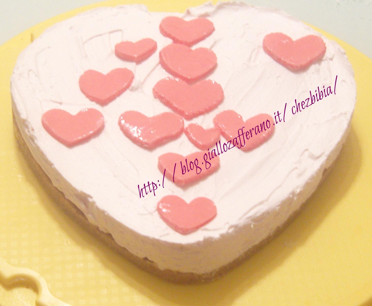 Torta Per Anniversario Di Matrimonio Giallo Zafferano.Torta Fredda Allo Yogurt 4 Anniversario Di Matrimonio Chez Bibia