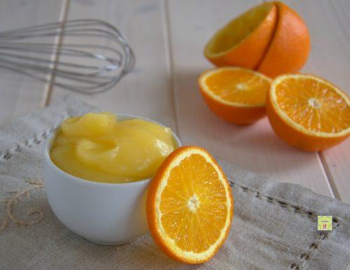 Crema all'arancia senza latte, ricetta di base