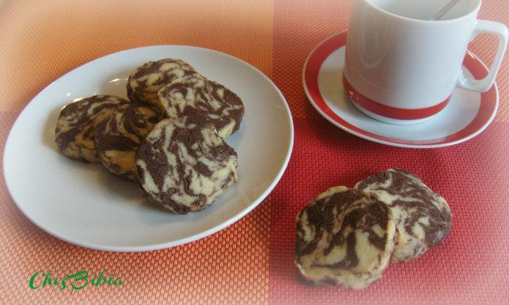 Biscotti marmorizzati, ricetta facile