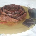 Torta al vino rosso e cioccolato fondente