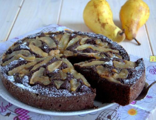 Torta pere e cacao