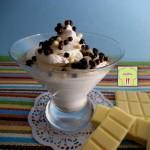 mousse al cioccolato bianco