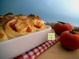 Torta delle rose salata pomodori e provolone dolce