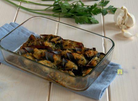 Cozze al gratin, ricetta di una tarantina doc