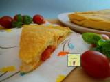 focaccia ripiena pomodori mozzarella e basilico