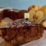 torta di mele e cacao