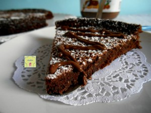 torta alla nutella con 2 ingredienti 1