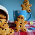 biscotti omino vaniglia e gocce di cioccolato 1