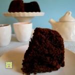 Ciambella al cacao senza