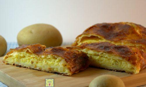 Strudel di patate, ricetta facile
