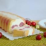 mattonella alle ciliegie e cioccolato bianco