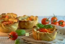 Mini quiche ai pomodorini