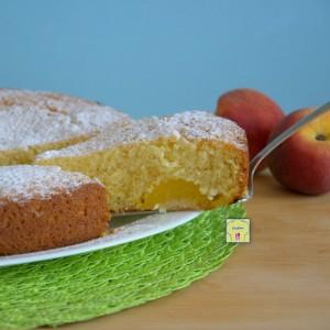 torta soffice alle pesche fb