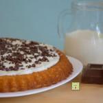 crostata morbida crema di latte e cioccolato