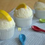 gelato al limone cremoso senza uova