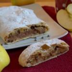 strudel di mele ricotta e cioccolato