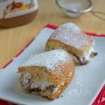torta semplice nutella e panna