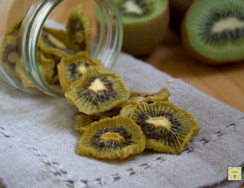Chips di kiwi disidratati