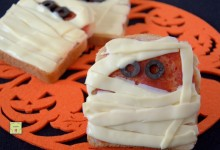 Toast mummia, ricetta velocissima per Halloween