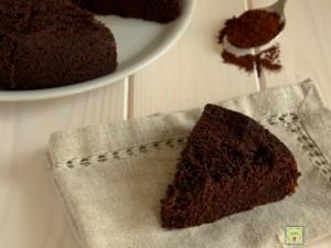torta al cioccolato col cucchiaio