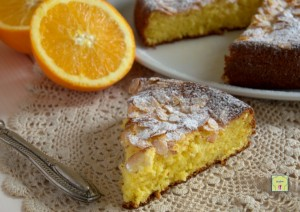 torta di mandorle e arance