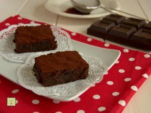 torta fondente di cioccolato
