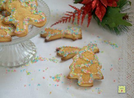 Biscotti di Natale senza uova