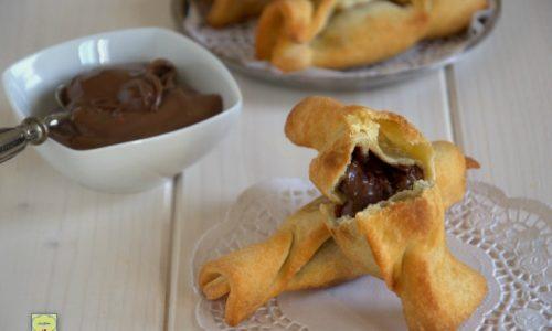 Caramelle con nutella o crema di nocciole