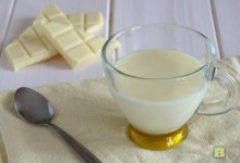 Cioccolata bianca calda