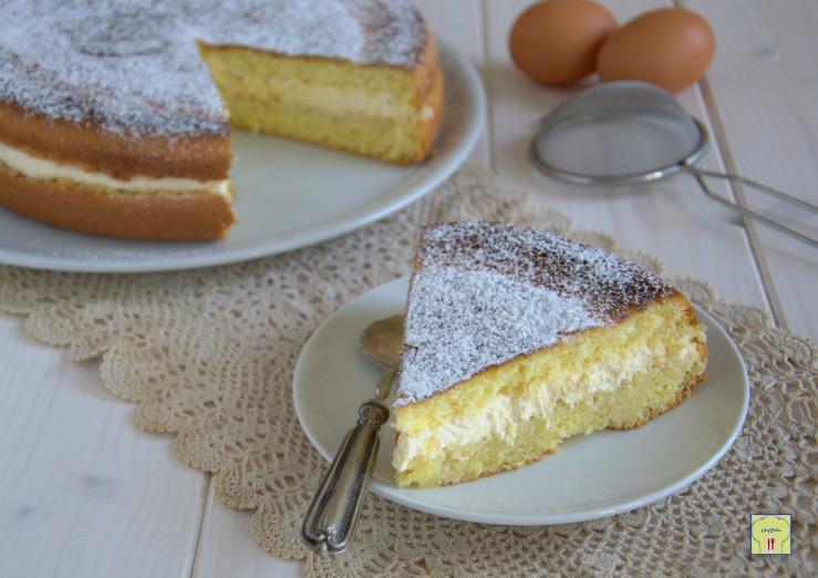 Torta allo zabaione