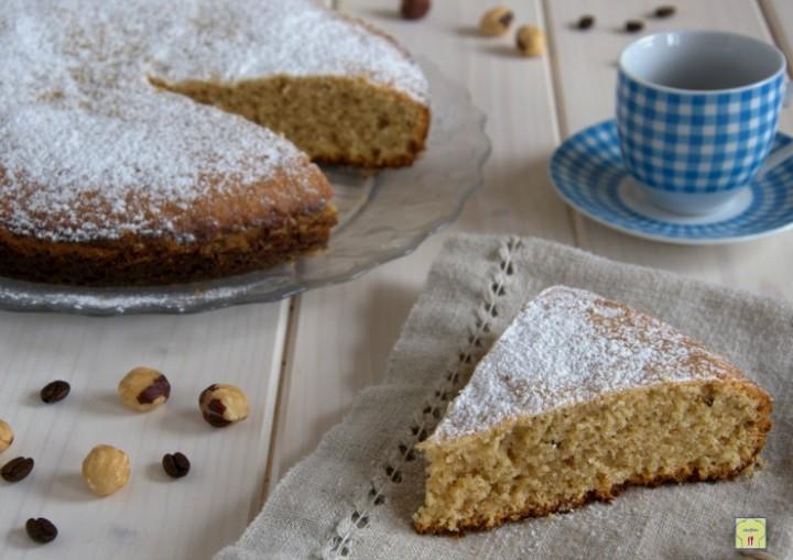 torta nocciole e caffe'