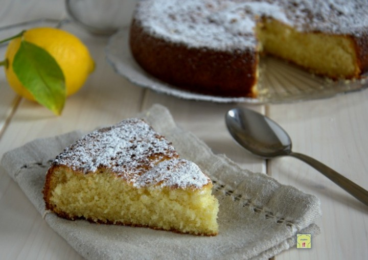 torta semplice col cucchiaio