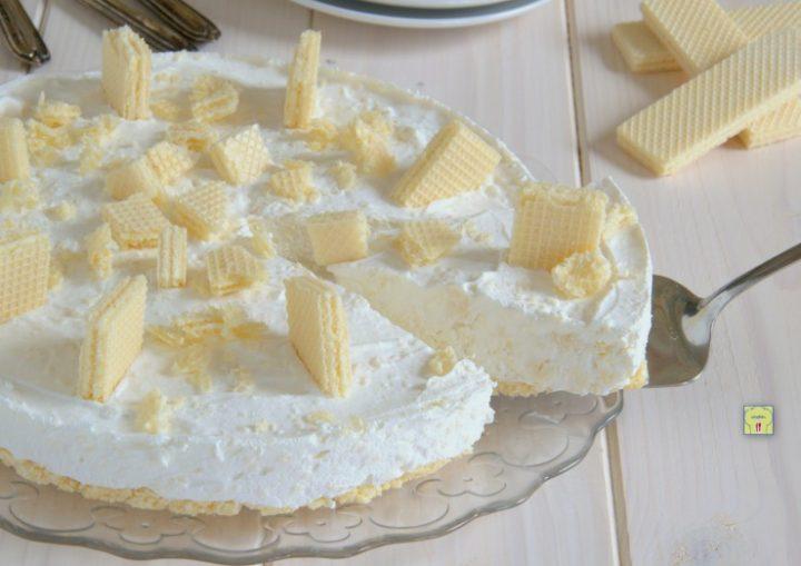 torta fredda ai wafer senza cottura