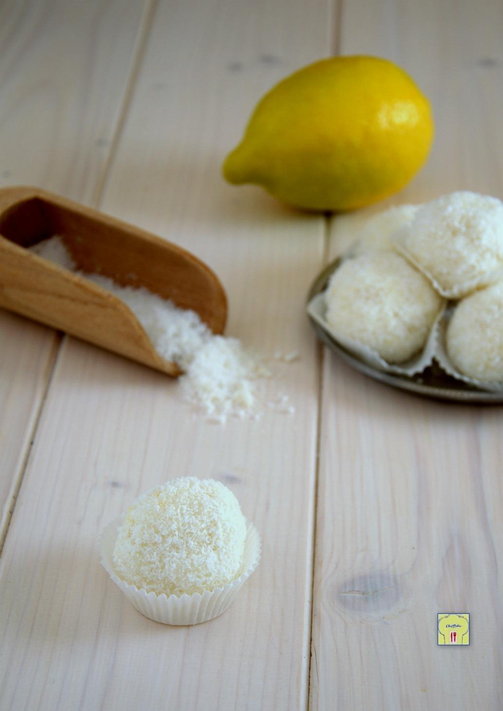 tartufi cocco e limone gp