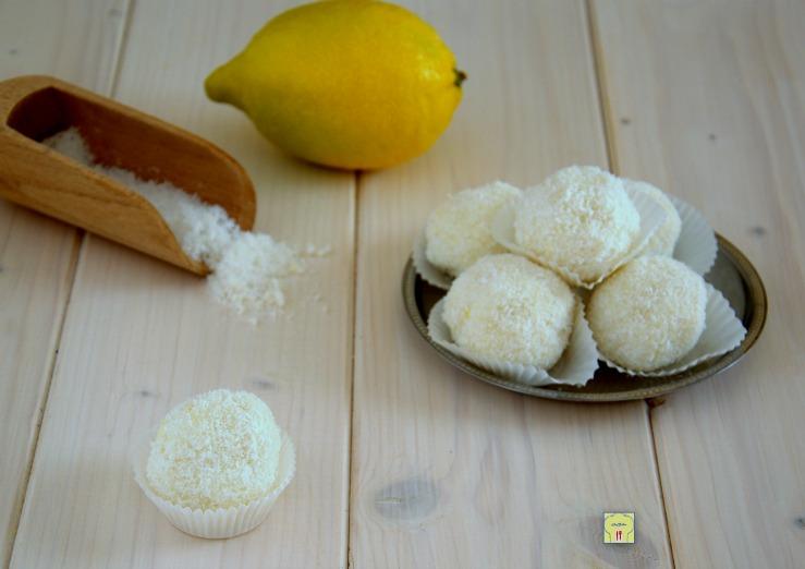 tartufi cocco e limone