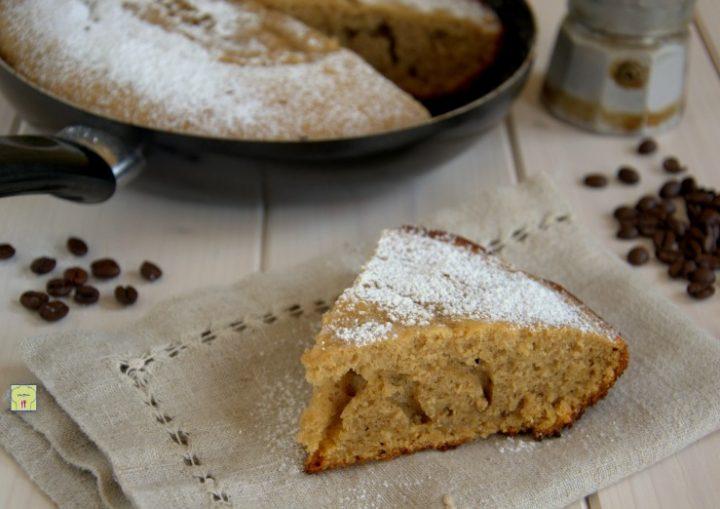 torta al caffe' in padella