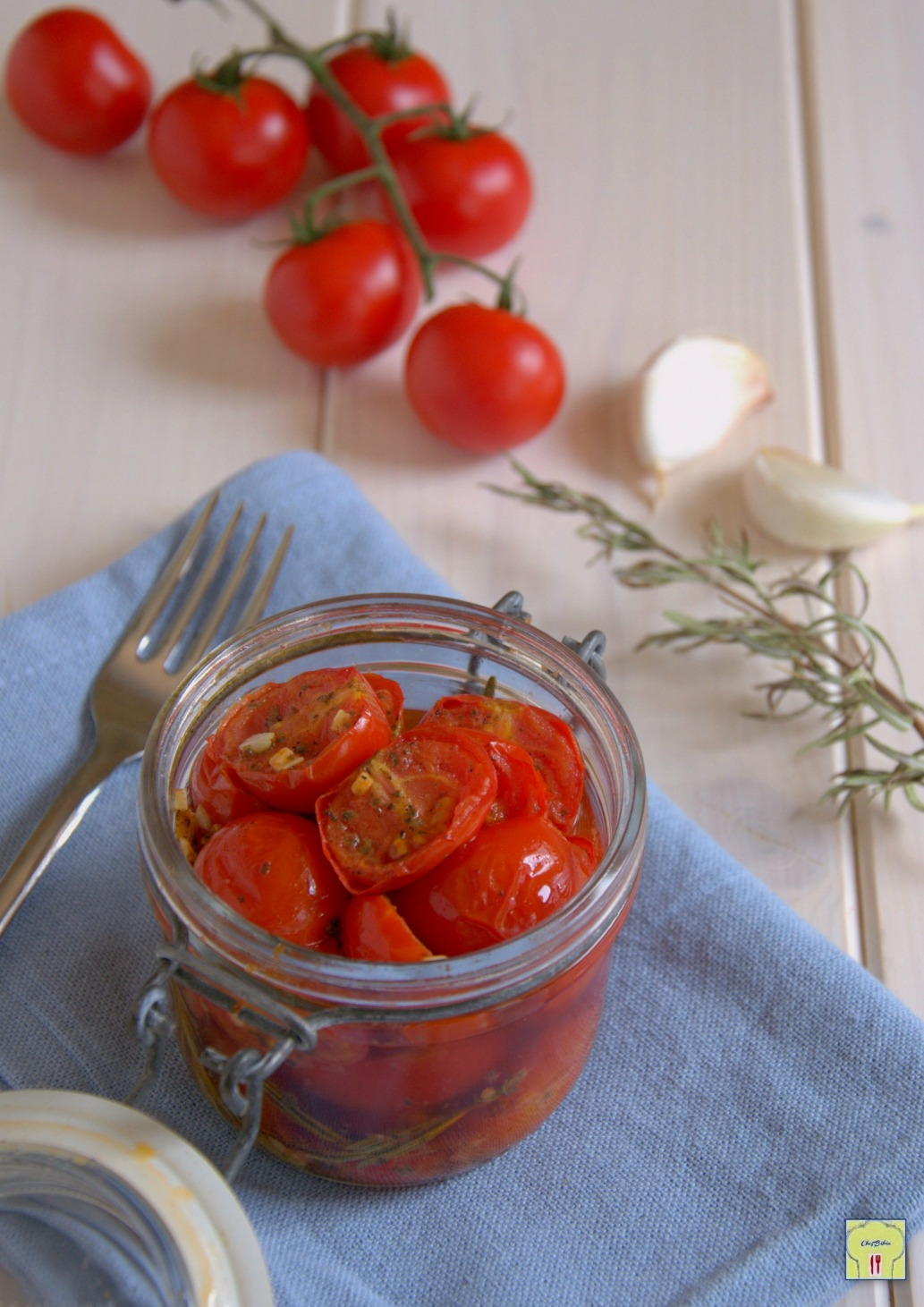 conserva di pomodorini marinati gp
