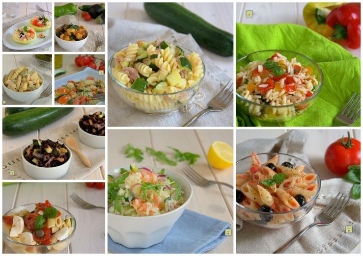 Le 10 migliori ricette di insalate di pasta o riso