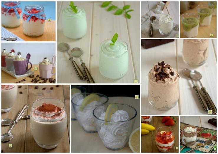 Le 10 migliori ricette di mousse dolci