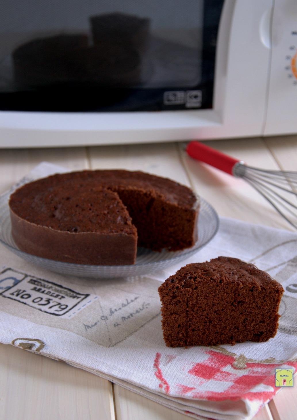 Torta al cioccolato al microonde ricetta velocissima for Ricette microonde