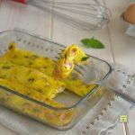 cannelloni di uova con prosciutto e formaggio
