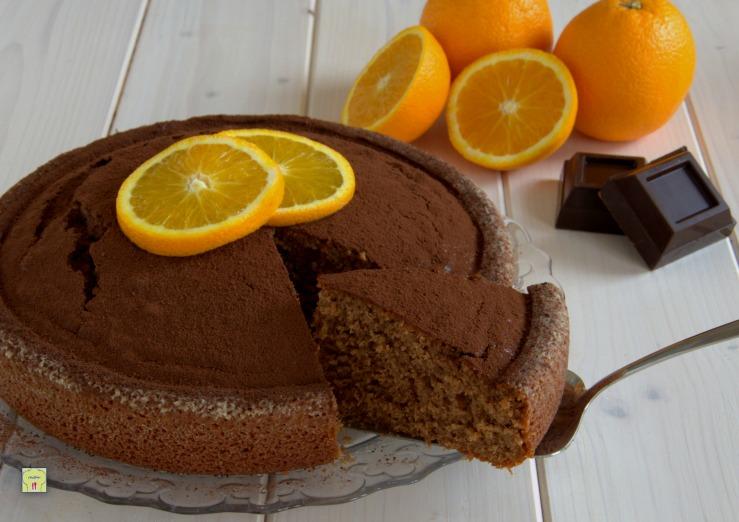 Torte Da Credenza Al Cioccolato : Torta al cioccolato profumo di arancia dolci all